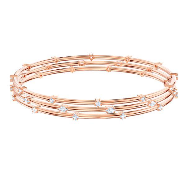 Pulsera-Cluster-Penelope-Cruz-Moonsun-blanco-baño-de-oro-rosa
