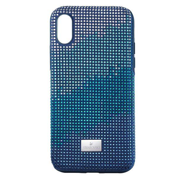 Funda-para-smartphone-con-proteccion-rigida-Crystalgram-iPhone®-X-XS-azul
