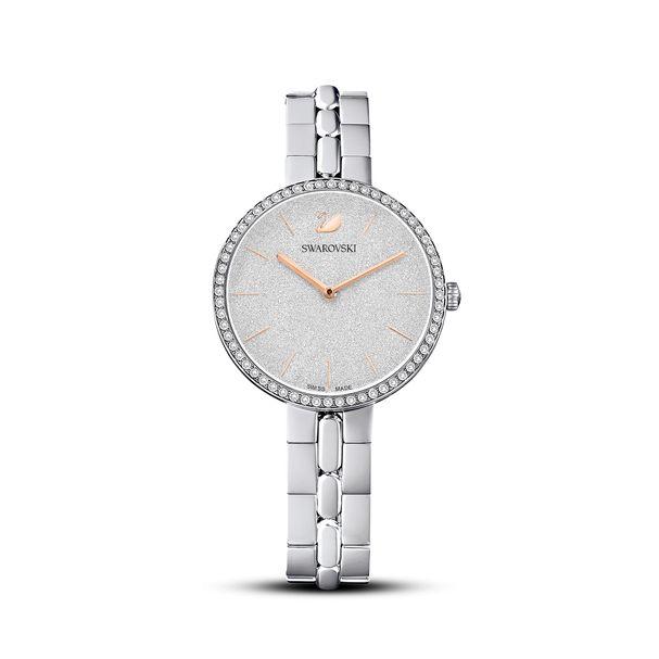 Reloj-Cosmopolitan-brazalete-de-metal-blanco-acero-inoxidable
