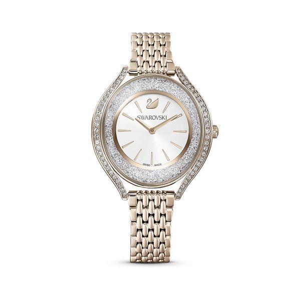 Reloj-Crystalline-Aura-brazalete-de-metal-tono-dorado-PVD-tono-oro-champan