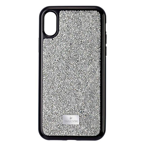 Funda-para-smartphone-Glam-Rock-iPhone®-XS-Max-tono-plateado