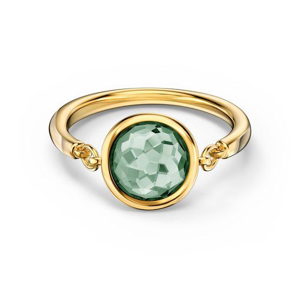 Anillo-Tahlia-verde-baño-tono-oro