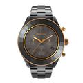 Reloj-Octea-Lux-Sport-Brazalete-de-metal-PVD-negro