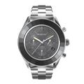 Reloj-Octea-Lux-Sport-Brazalete-de-metal-Negro-Acero-inoxidable